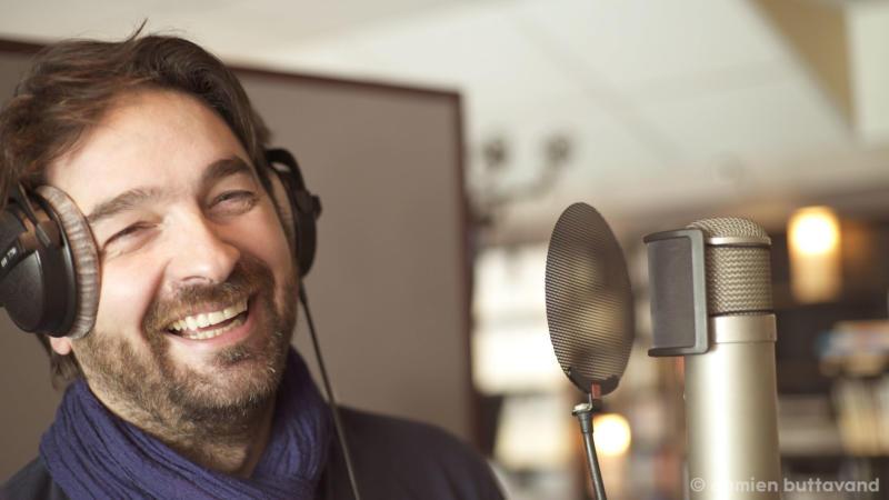 At recording studios